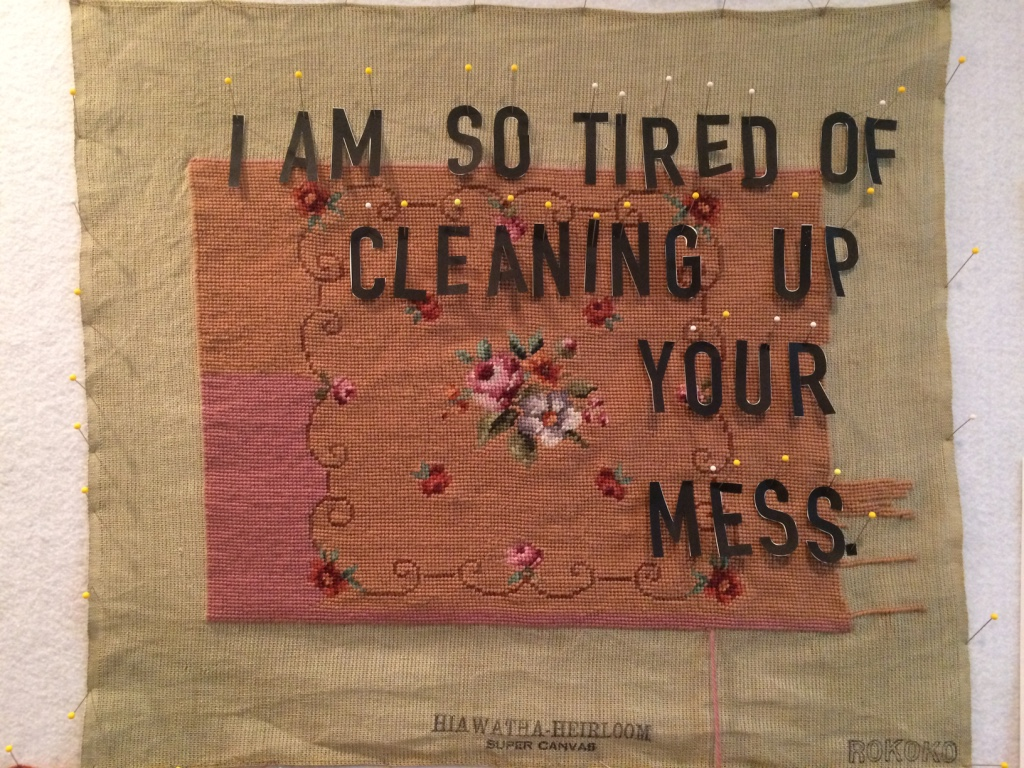 Amy Meissner, textile artist. From the post Of monsters. www.amymeissner.com/blog/of-monsters