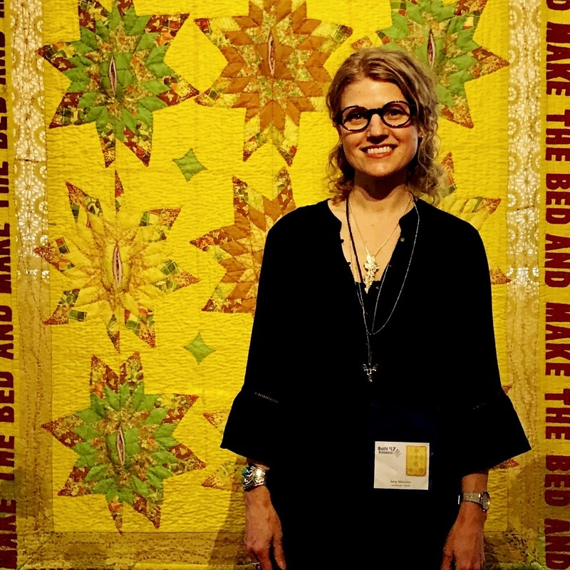 Amy Meissner, textile artist | From the post A history of intention. | www.amymeissner.com/blog/a-history-of-intention