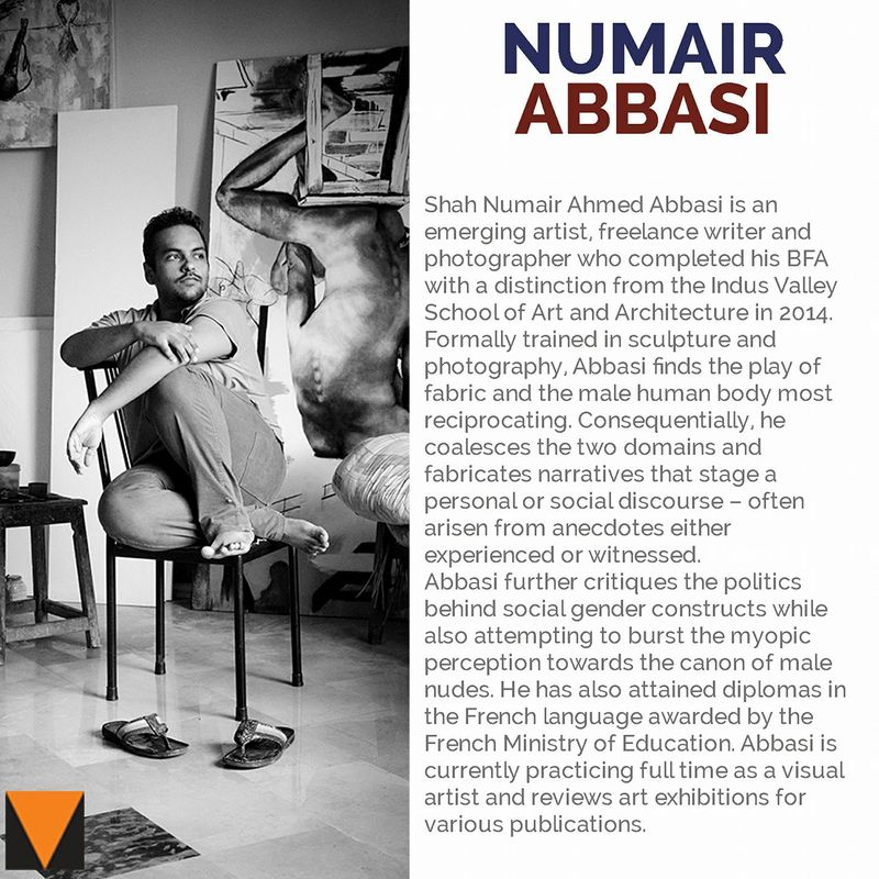 Numair Abbasi | The Thread Unraveled | VM Art Gallery | Karachi Pakistan, 2017