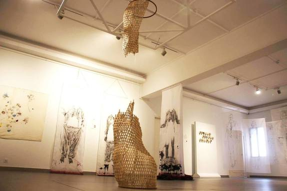 The Thread Unraveled | VM Art Gallery | Karachi Pakistan, 2017