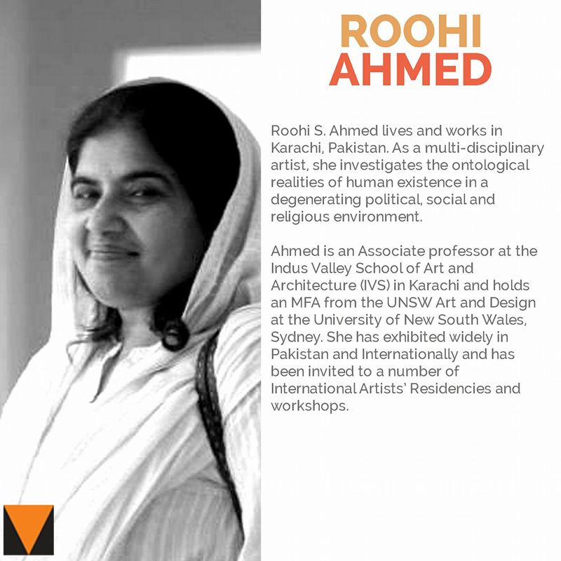 Roohi Ahmed | The Thread Unraveled | VM Art Gallery | Karachi Pakistan, 2017